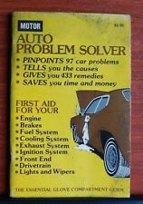 Motor: Auto Problem Solver - Problems Causes Remedies - 1976 PB