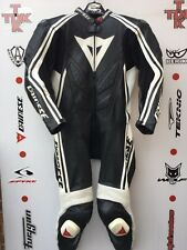 Dainese Stripes 1 piece race suit with hump uk 42 euro 52