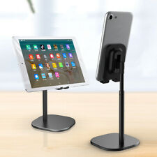 Desktop Stand Desk Holder Mount Cradle Adjustable For Cell Phone Tablet iPhone