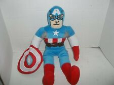 "marvel avengers captain america plush doll with shield 18"" tall jay franco"
