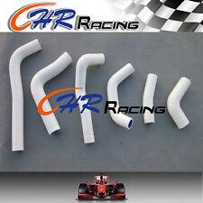 New 2003 2002-2004 FOR Honda CRF450R CRF 450R Silicone Radiator Hose WHITE