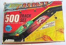 1969 Topper Johnny Lightning Racing 500 Play Track set Redline Good Vintage