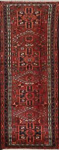Traditional Geometric Oriental Runner Rug Wool Hand-knotted 2x7 Hallway Carpet