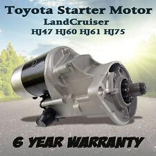 Starter Motor for Toyota Landcruiser HJ60 HJ61 HJ47 HJ75 Eng 2H 12HT Diesel 4.0L