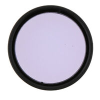 Universal Telescope Eyepiece Moon Planet Filter Purple for Astronomy 1.25""