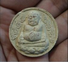 Phra Sangkajai By LP Kalong Amulet Lucky Talisman Happy Buddha Rich Pendant