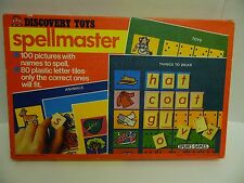 Vintage Discovery Toys Spellmaster learning game/toy made in England