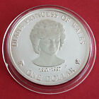 DIANA PRINCESS OF WALES COOK ISLANDS 1997 MATTE PROOF 1oz .999 SILVER ONE DOLLAR