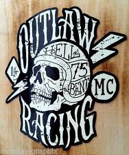 Outlaw 1% Oldschool vintage Aufkleber Bobber Biker Retro Sticker USA Chopper