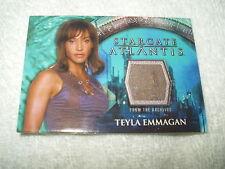 Stargate Atlantis Costume Card Teyla Emmagan