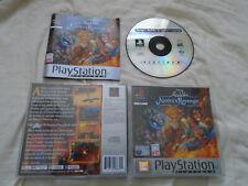 Disney's Aladdin in Nasira's Revenge PS1 (COMPLETE) platinum Sony PlayStation