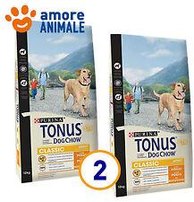 2 SACCHI - Purina Tonus Classic Adult 12 Kg - Crocchette cane adulto al Pollo