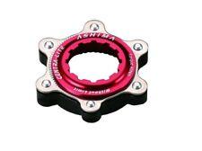 Ashima AC02 Adapter Centerlock auf IS 6-Loch für Schnellspannernaben, rot, NEU
