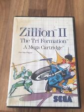 "SEGA:     ZILLION 2     ""THE TRI FORMATION""        PAL EUR"