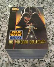 1993 Star Wars Galaxy 1 Complete card Set numbered 1-140 NM/M