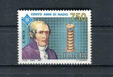 Italia 1992 Centenario radio 2° serie Alessandro Volta MNH