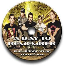 A DAY TO REMEMBER POP PUNK ROCK METAL TABLATURA PER CHITARRA INTAVOLATURA CANTO