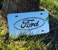 FORD Stainless Steel Sign CAR PLATE