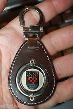 Baku 2015 Olympics Leather Keychain from security advisers leather w/ game seal