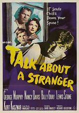 Talk About A Stranger (Film Noir '52) Billy Gray, Nancy Davis, George Murphy.