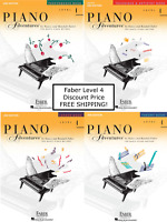 Faber Piano Adventures Level 4 - Pack Set (Lesson/Theory/Perf/Technique) NICE !