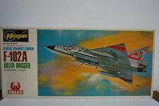 Hasegawa 1/72 Convair F-102A Delta Dagger Plastic Model Kit.