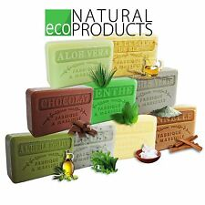 Savon de Marseille Natural French Soap with Organic Shea Butter Genuine SPA