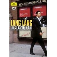 "LANG LANG ""LIVE AT CARNEGIE HALL"" DVD NEW+"