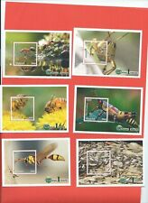Malawi stamps. 2018 Insects set of 6 minisheets MNH (G702)