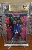 2019-20 PRIZM DRAFT PICKS #64 ZION WILLIAMSON RC PINK PULSAR PRIZM BGS 9.5 GEM