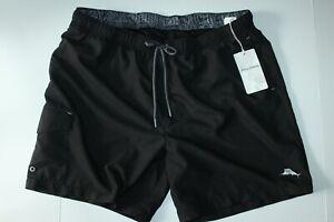 Tommy Bahama Swim Suit Trunks Naples Coast Black 37-39 waist Extra Large XL