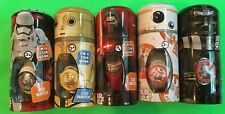 5 NEW DISNEY STAR WARS LCD WATCHES/COIN BANK. DARTH VADER, KYLO REN, STORM TROOP