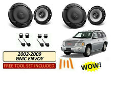 Kenwood Gmc Envoy 2002 2009 Stereo 2 Way Front Rear Speakers Harness