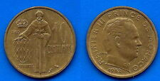 Monaco 10 Centimes 1962 Cent Cents Francs Frcs Free Shipping Worldwide Skrill OK
