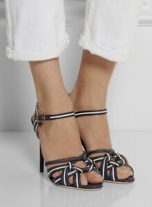 Charlotte olympia Navy Admiral Sandals, Size 39, Worn Once