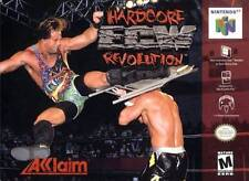 ECW Hardcore Revolution N64 Great Condition Fast Shipping