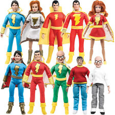 Shazam Retro 8 Inch Action Figures Series: Special Deal With 10 Loose Figures