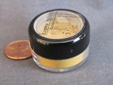 GOLDEN NUGGET - Gold Yellow Natural Mineral Makeup EYE SHADOW Powder 4 gm - NEW