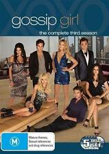 GOSSIP GIRL (COMPLETE SEASON 3 - DVD SET SEALED + FREE POST)