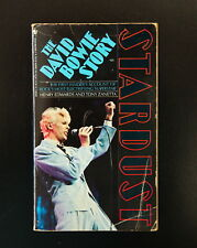 Stardust – The David Bowie Story by T. Zanetta & H. Edwards 1987 Pb Usa 435pp