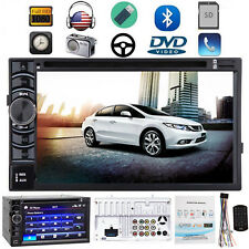 """Double Din 6.2"""" Car Stereo DVD FM Radio Player In-Dash Bluetooth For Honda Civic"""