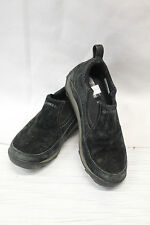 Merrell ZOYA Womens Slip On Sliders Size 6 Great Used Condition Black Leather