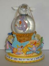 Disney Epcot Figment Imagination large snowglobe LIGHTS UP Music FIGMENT SONG