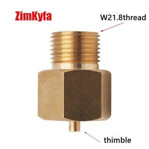 CO2 Tank RPV Residual Pressure Valve Pushing Open Pin Adaptor for Filling W21.8