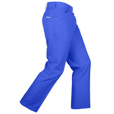 NEW Stromberg Sintra Mens Slim Fit Technical Funky Golf Trousers Cobalt Blue 32