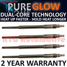 4x Diesel Heater Glow Plugs For Audi Mitsubishi Seat Skoda VW 2.0 TDI  Dual Core