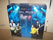 The Rolling Stones Trivial Pursuit Game  -2011  - NEW - COLLECTORS EDITION