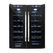 Wine cooler Fridge Big Refrigerator Buit-in 24 Bottles Touch 2 Glass Door 67 Lit