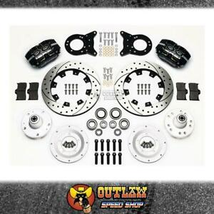 """WILWOOD DUST BOOT FRONT DISC BRAKE KIT FITS FORD FITS 63-69 FALCON 12"""""""