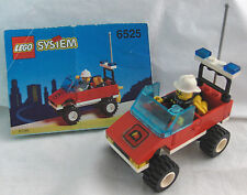 LEGO SET 6525 - BLAZE COMMANDER (Town / Fire Series)  Complete with Minifigure